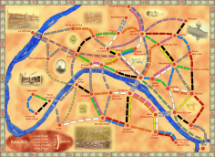 Les aventuriers du rail à Paris